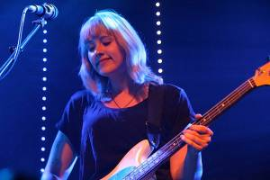 Jenn Wasner with Wye Oak