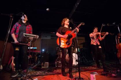 Mirah at the Media Club, Vancouver, Nov. 15 2014. Kirk Chantraine photo.