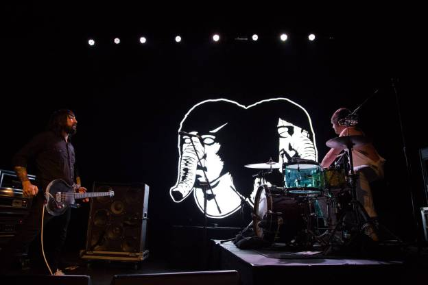 Death From Above 1979 at the Vogue Theatre, Vancouver, Jan. 21 2015. Kirk Chantraine photo.