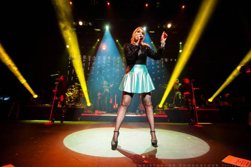 Meghan Trainor at the Vogue Theatre, Vancouver