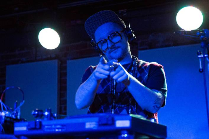 DJ Vadim at the Electric Owl, Vancouver, Mar. 27 2015. Kirk Chantraine photo.