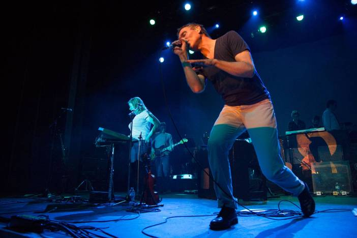 Belle and Sebastian at the Vogue Theatre, Vancouver, Apr. 8 2015. Kirk Chantraine photo.