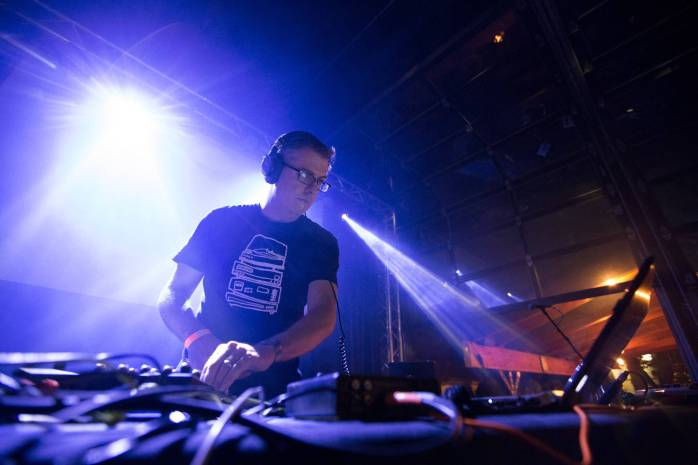 Lusine at Nectar Lounge, Seattle, May 2 2015. Kirk Chantraine photo.