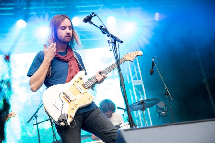 Tame Impala at the Malkin Bowl, Vancouver, May 26 2015. Kirk Chantraine photo.