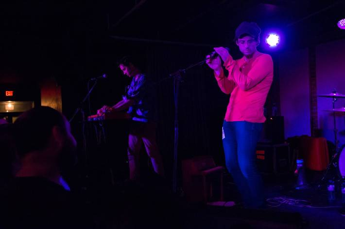 Clap Your Hands Say Yeah at the Electric Owl, Vancouver, July 18 2015. Kirk Chantraine photo.