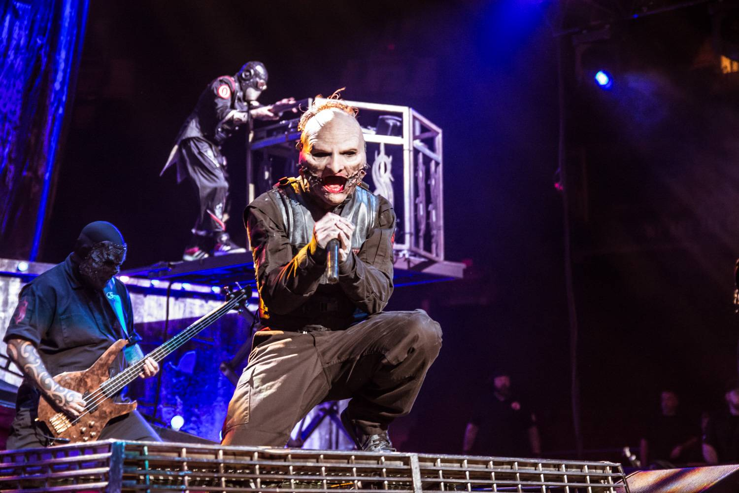 Slipknot at Rogers Arena, Vancouver, Aug 24 2015. Pavel Boiko photo.