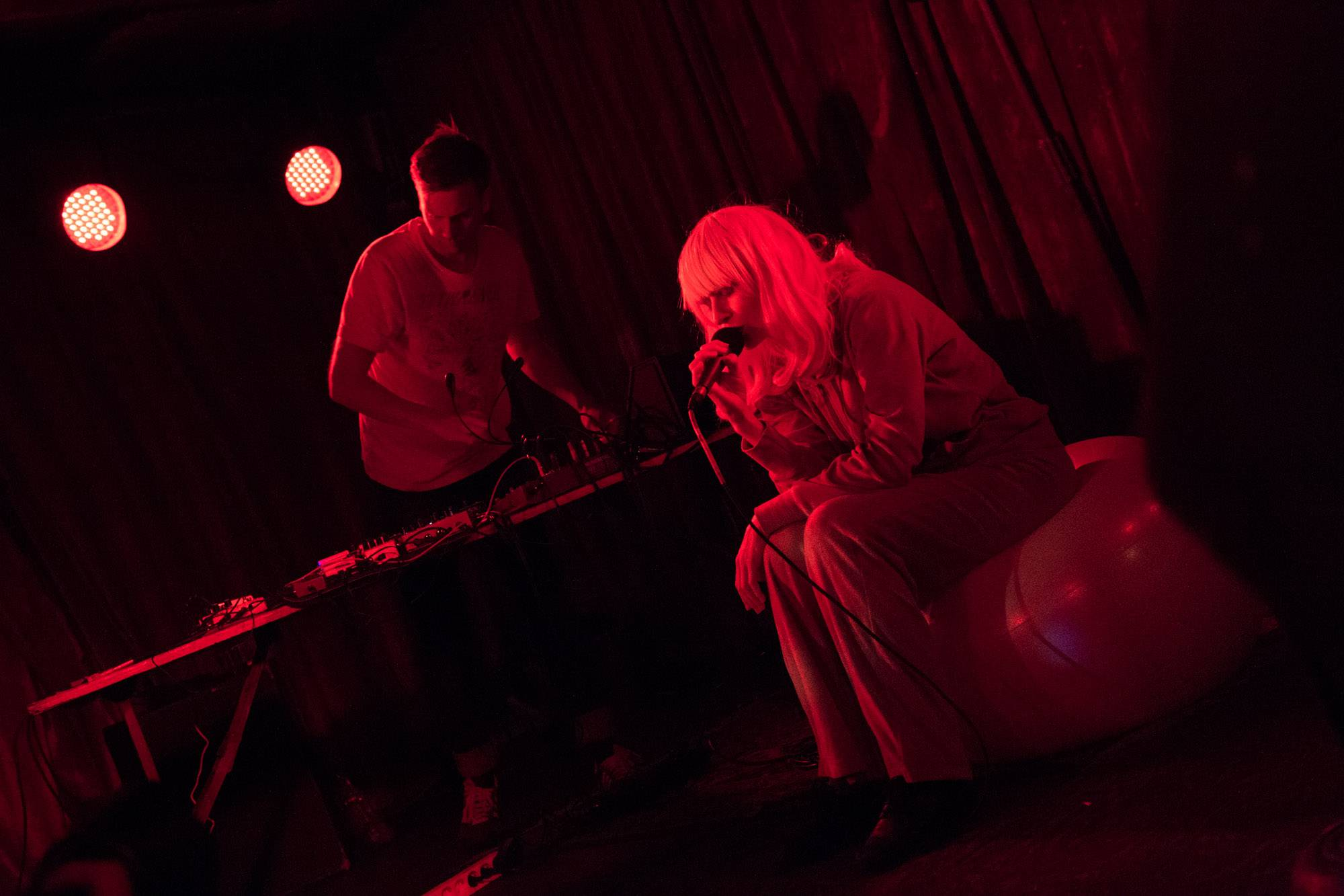Jenny Hval at the Cobalt, Vancouver, Aug 28 2015. Kirk Chantraine photo.