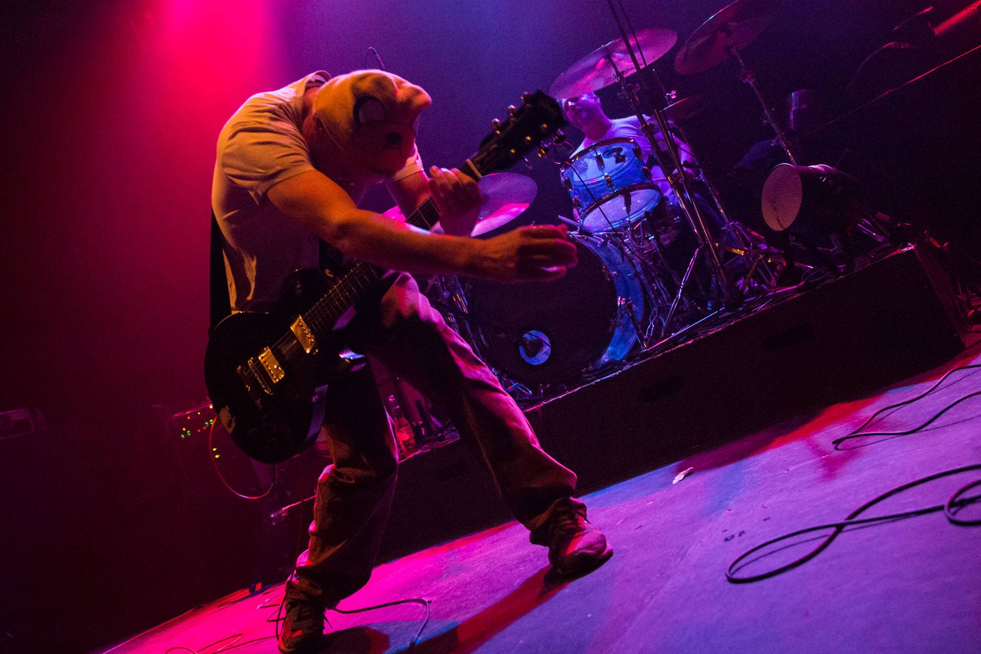Hum at the Rickshaw Theatre, Vancouver, Sept 21 2015. Kirk Chantraine photo.