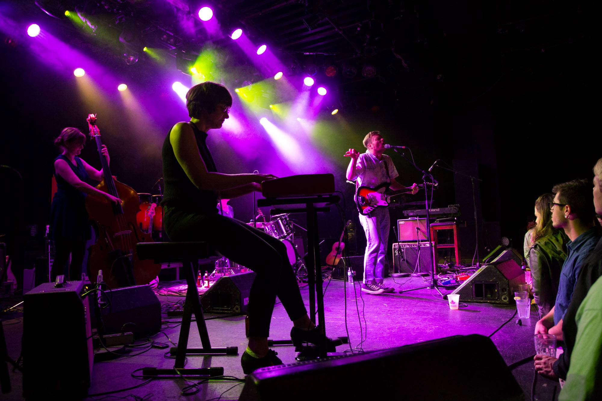 Frog Eyes at the Commodore Ballroom, Vancouver, Oct 17 2015. Kirk Chantraine photo.