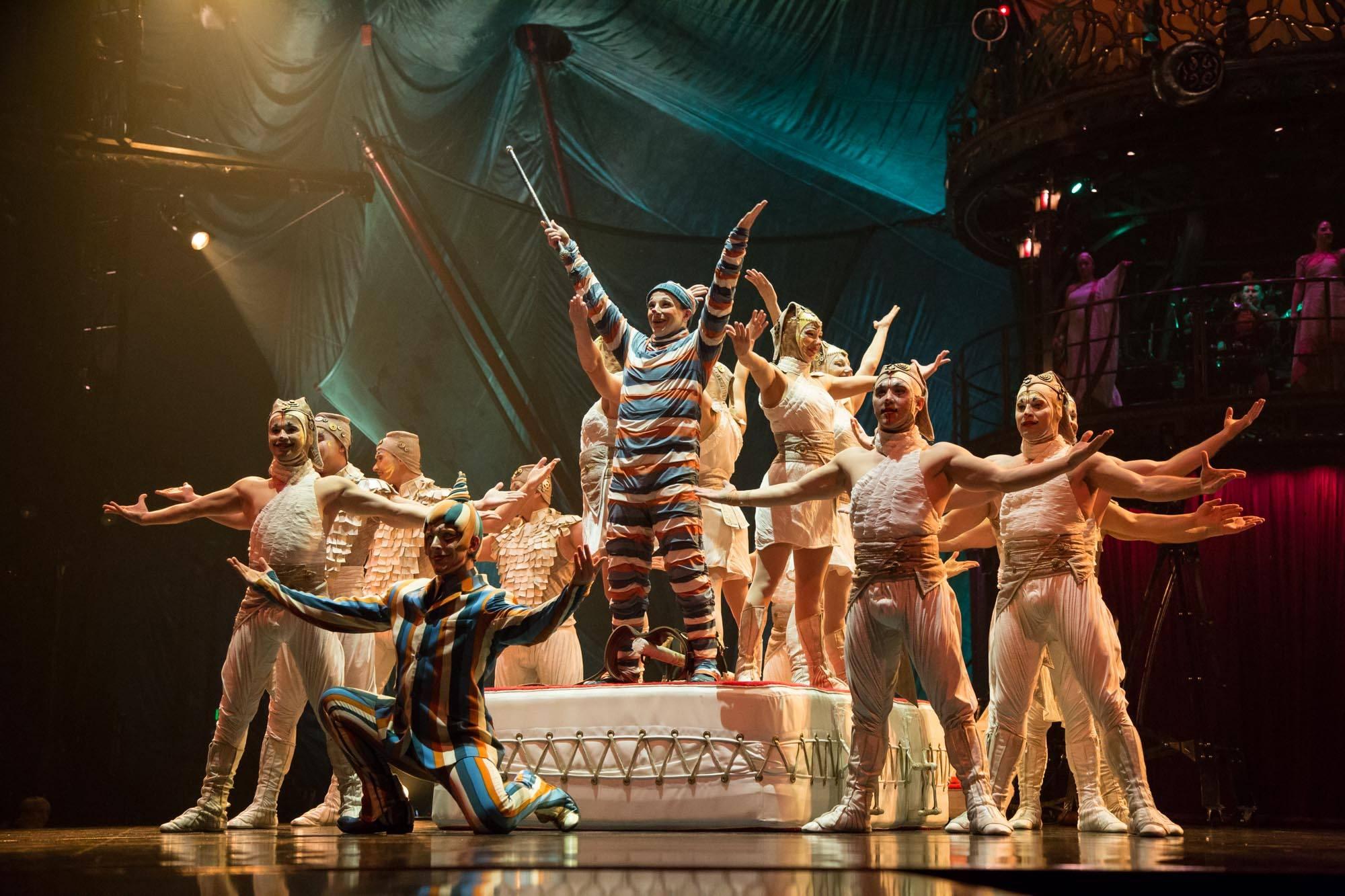 Cirque du Soleil's Kooza under the Big Top, Vancouver, Oct 28 2015. Kirk Chantraine photo.