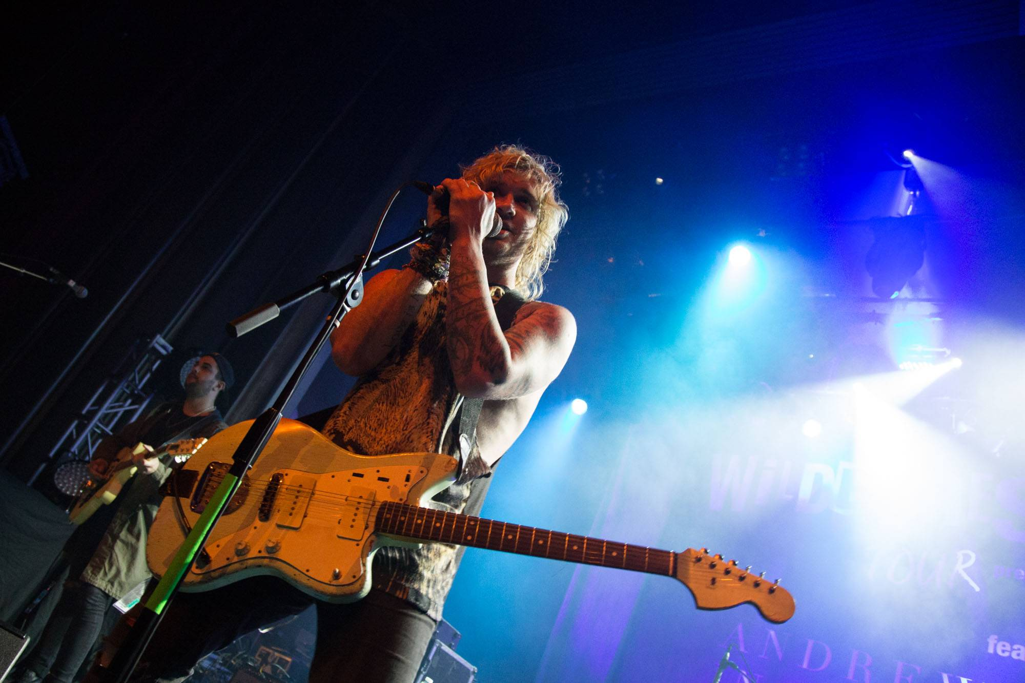 The Griswolds at the Vogue Theatre, Vancouver, Oct 14 2015. Kirk Chantraine photo.