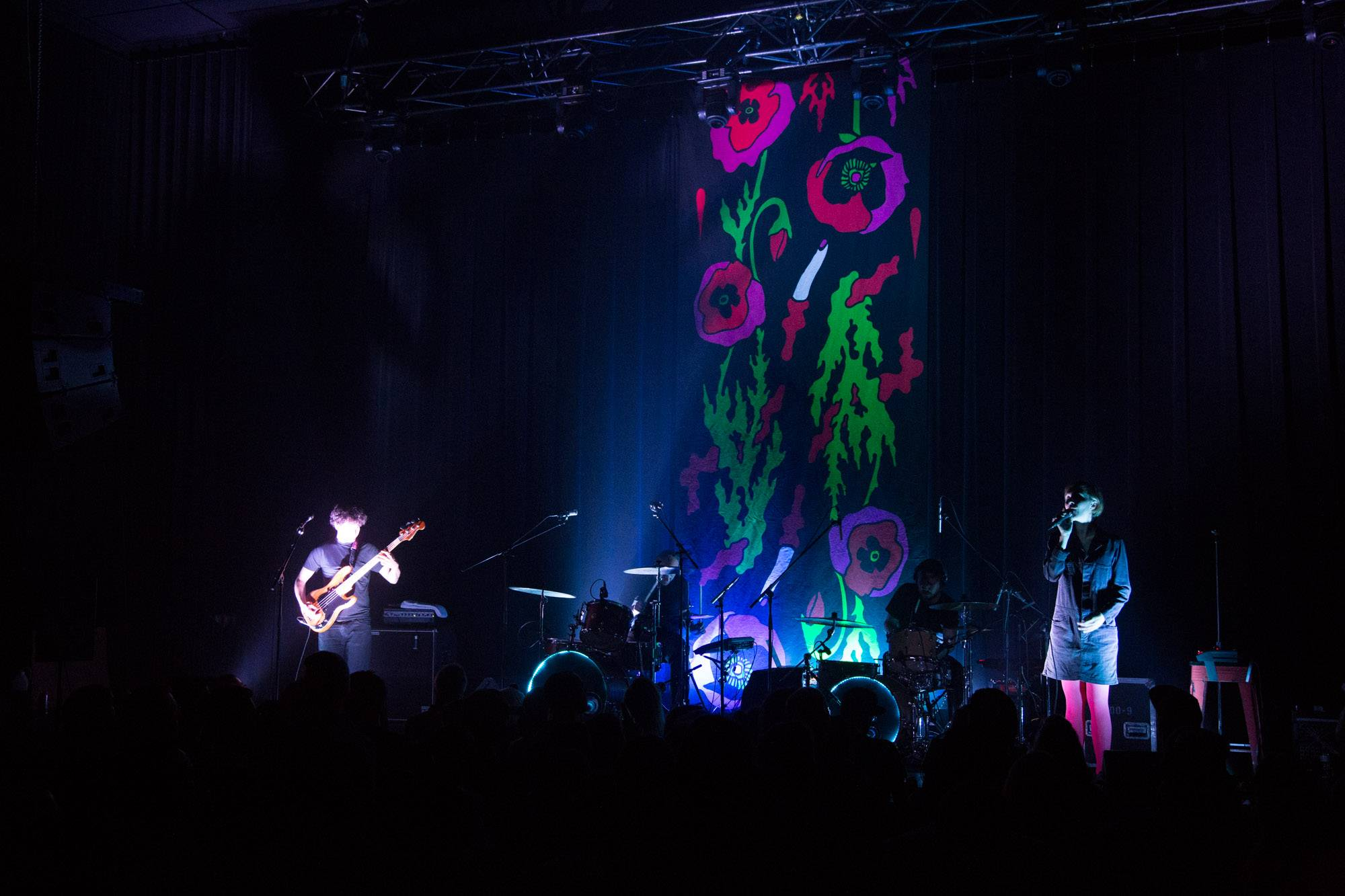 Poliça at the Imperial Theatre, Vancouver, Mar. 30 2016. Kirk Chantraine photo.