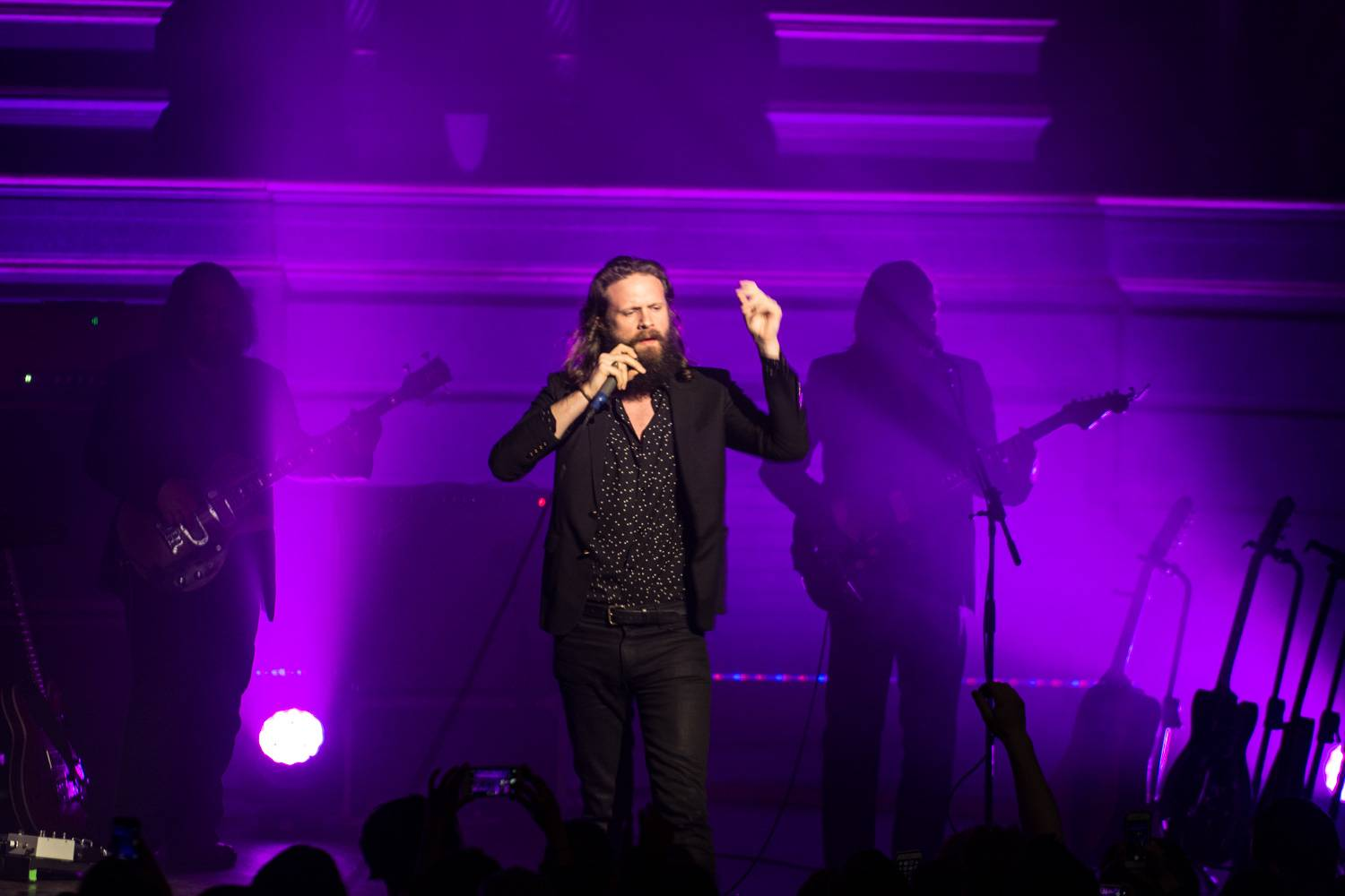 Father John Misty at the Orpheum, Vancouver, Apr. 5 2016. Pavel Boiko photo.