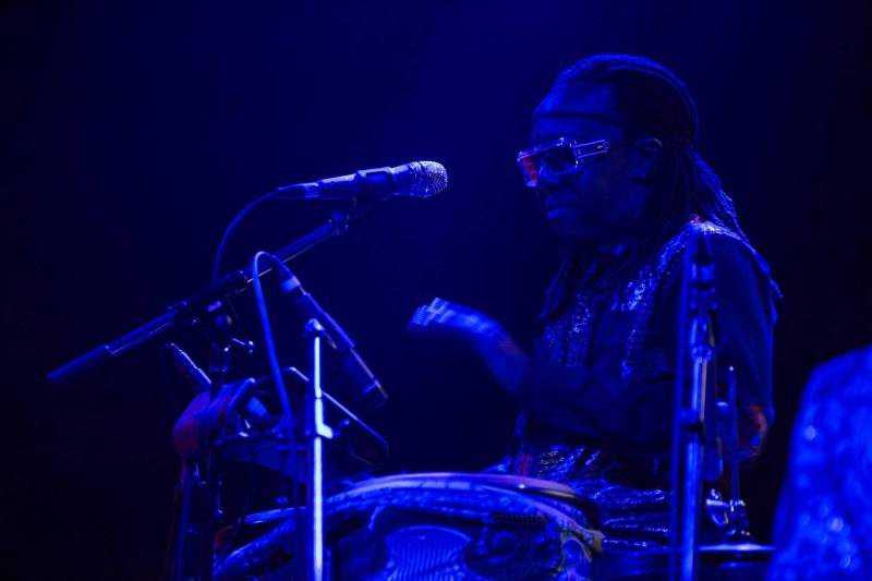 Shabazz Palaces at the Imperial, Vancouver, June 18 2016. Kirk Chantraine photo.