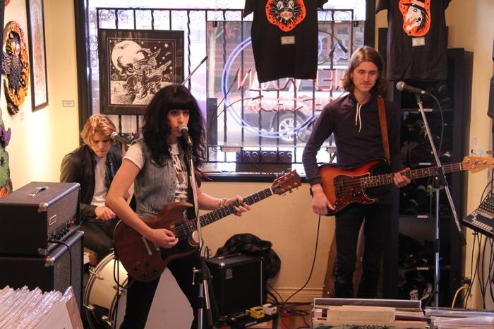 The Balconies at Neptoon Records, Vancouver, Oct 20 2012