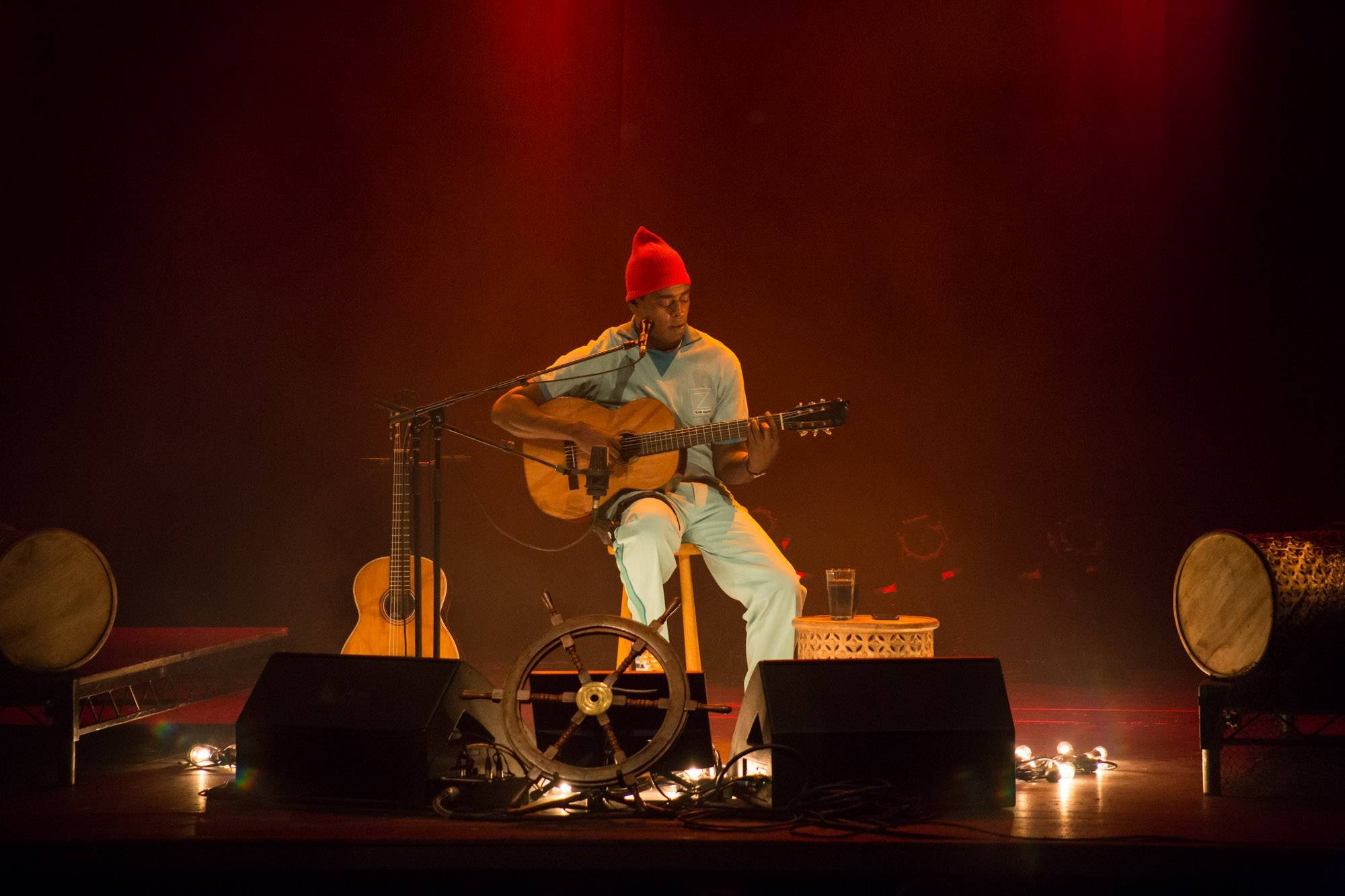 Seu Jorge at the Vogue Theatre, Vancouver, Nov. 20 2016. Kirk Chantraine photo.