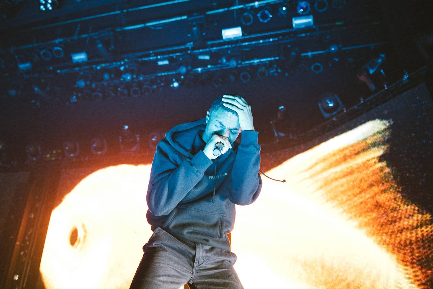 Vince Staples at the Vogue Theatre, Vancouver, Feb. 28 2017. Pavel Boiko photo.