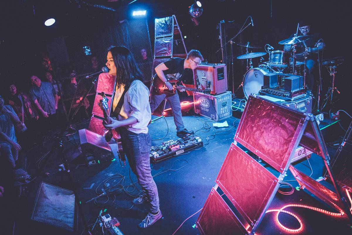 Mitski at the Biltmore Cabaret, Vancouver, Apr. 7 2017. Pavel Boiko photo.