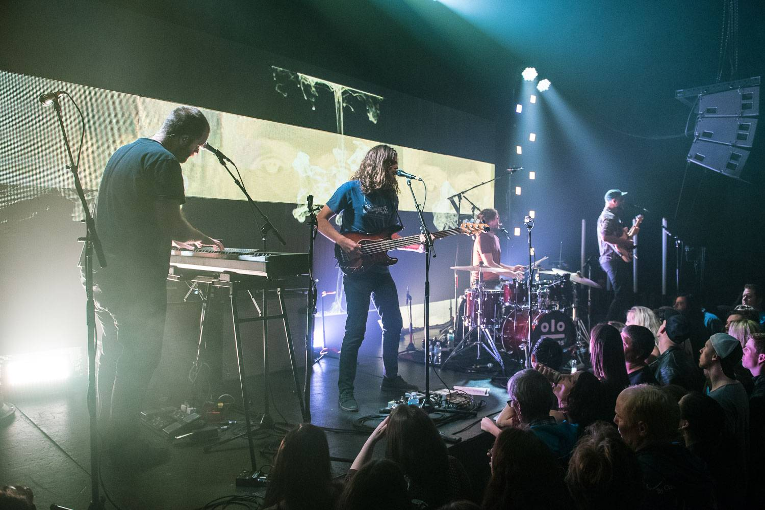 Kongos at the Imperial Nightclub, Vancouver, May 16 2016. Pavel Boiko photo.