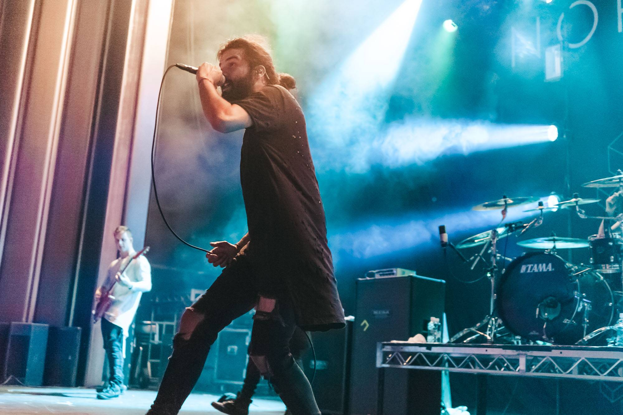 Northlane at the Vogue Theatre, Vancouver, July 29 2017. Kelli Anne photo.