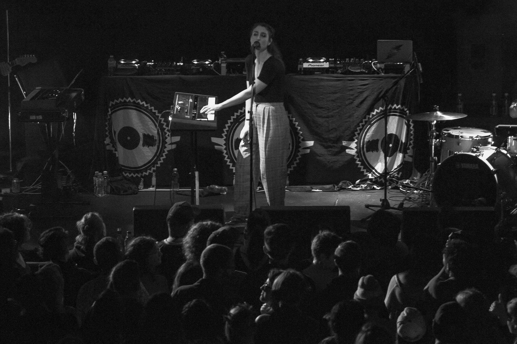 Hannah Georgas at Venue, Vancouver, Sept 17 2017. Jessica Vandergulik photo.