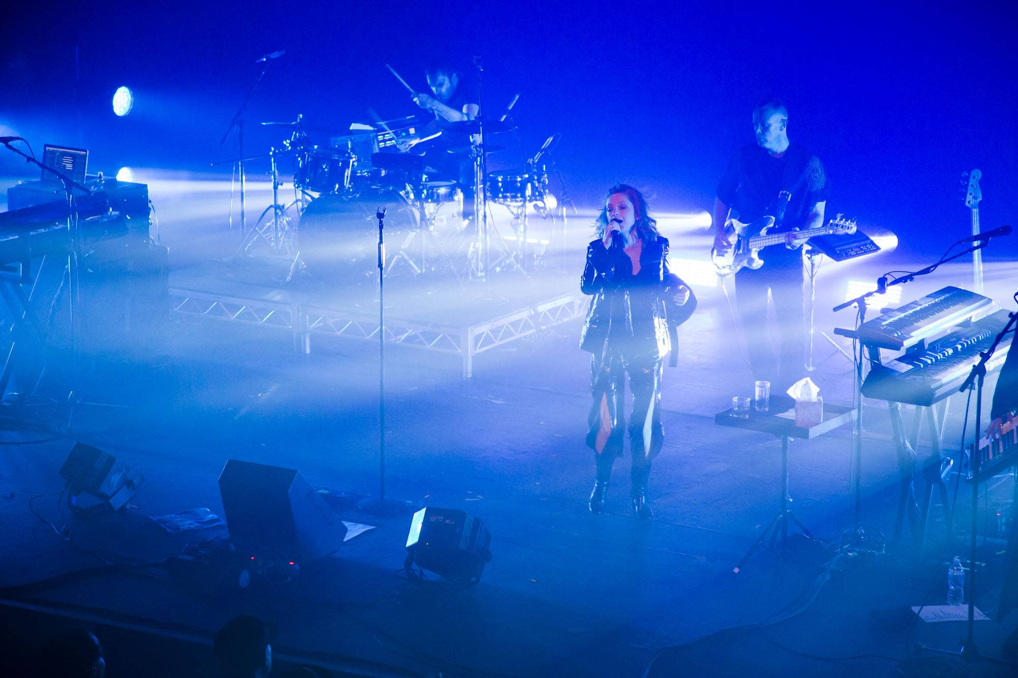 Goldfrapp at the Vogue Theatre, Vancouver, Sept 22 2017. Kirk Chantraine photo.