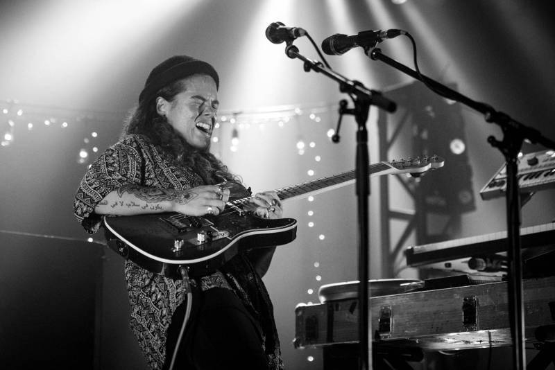 Tash Sultana at the Commodore Ballroom, Vancouver, Oct 25 2017. Jason Martin photo.
