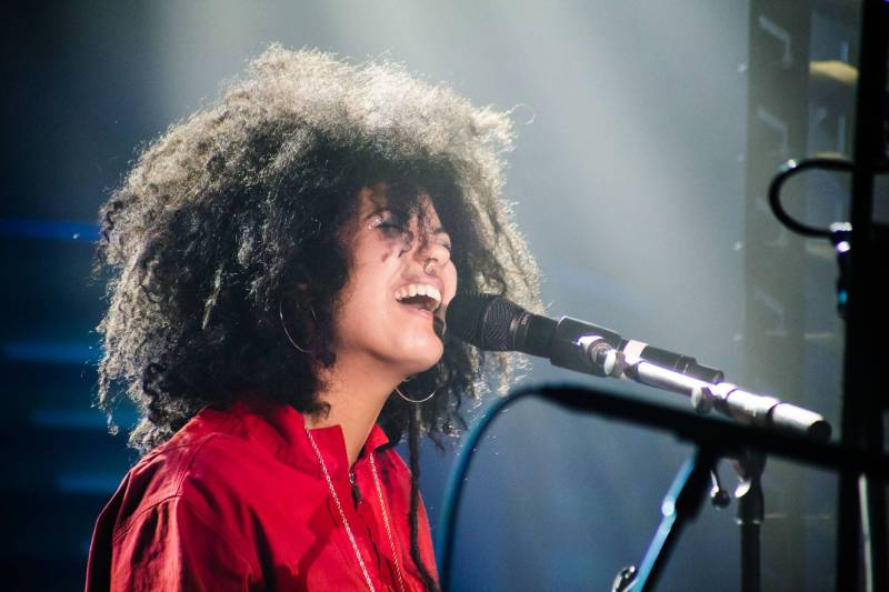 Ibeyi at the Commodore Ballroom, Vancouver, Nov 15 2017. Kirk Chantraine photo.