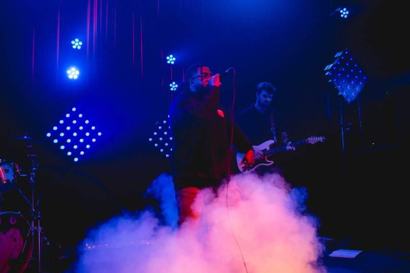 Xavier Omar at the Fox Cabaret, Vancouver, Dec 21 2017. Audrey Alexandrescu photo.