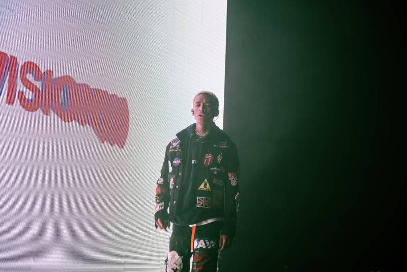 Jaden Smith at the Imperial, Vancouver, Apr 10 2018. Pavel Boiko photo.