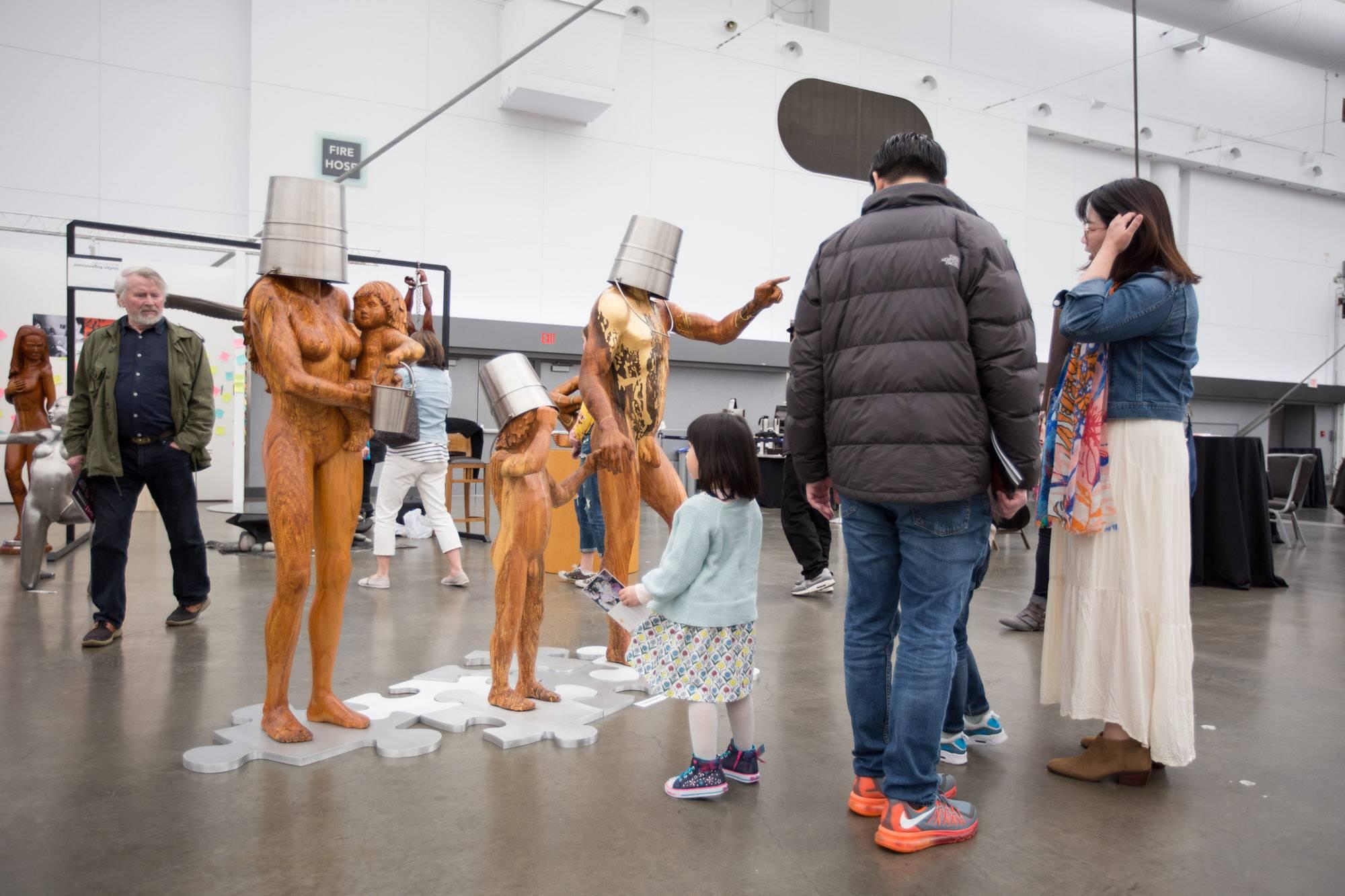 Art! Vancouver at the Convention Centre, Vancouver, Apr 21 2018. Kirk Chantraine photo.