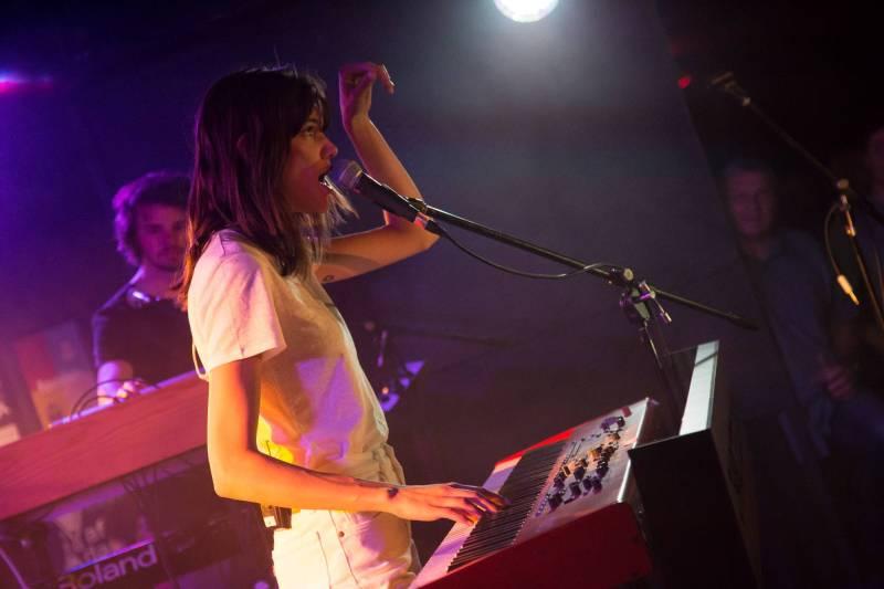 Charlotte Cardin at the Biltmore Cabaret, Vancouver, Apr 27 2018. Kirk Chantraine photo.