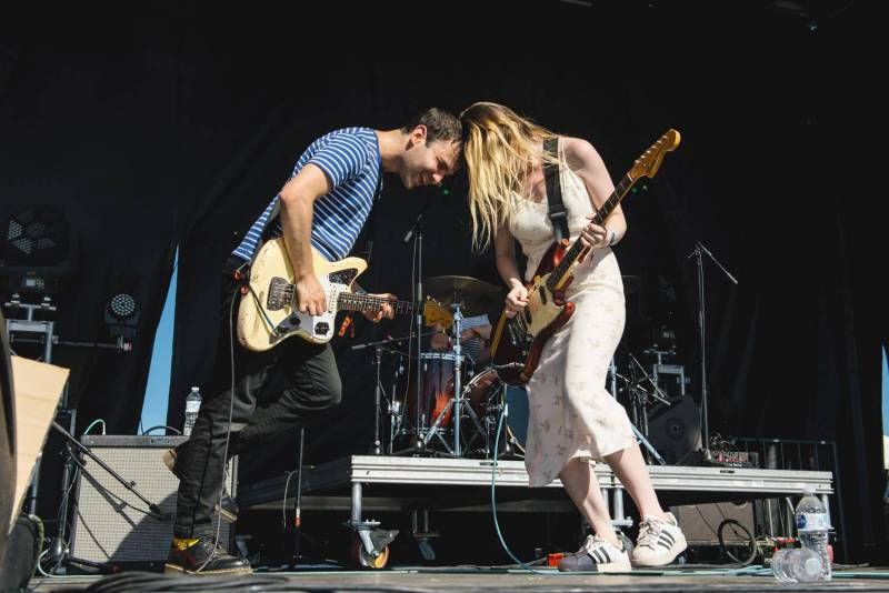 Charly Bliss at the Sasquatch Music Festival 2018 - Day 3, Gorge WA, May 27 2018. Pavel Boiko photo.