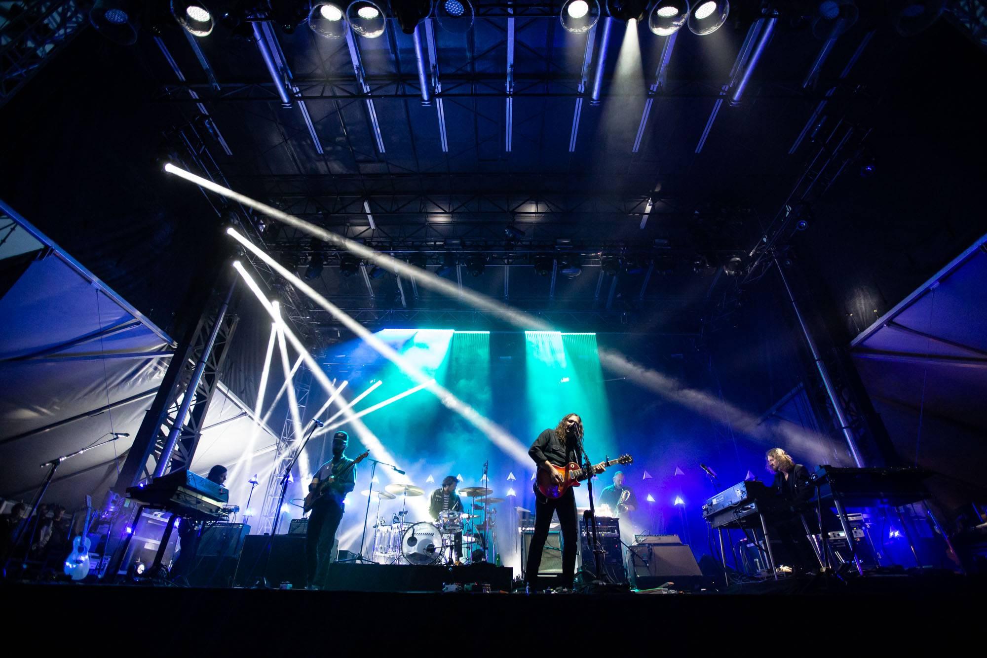 The War On Drugs at Skookum Festival, Vancouver, Sep 8 2018. Kirk Chantraine photo.