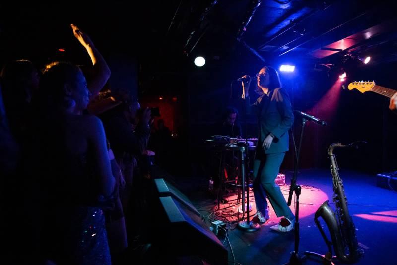 Mr. Twin Sister at the Biltmore Cabaret, Vancouver, Nov 11 2018. Kirk Chantraine photo.
