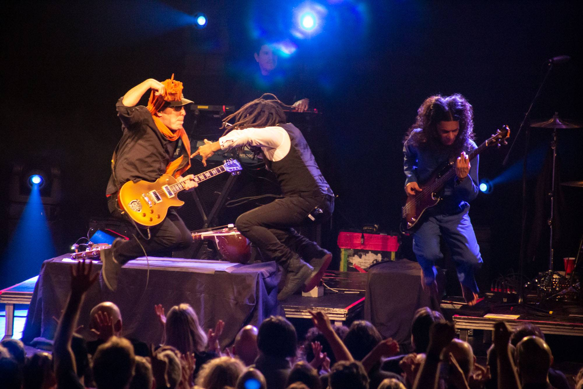 Thievery Corporation at the Commodore Ballroom, Vancouver, Dec 27 2018. Kirk Chantraine photo.