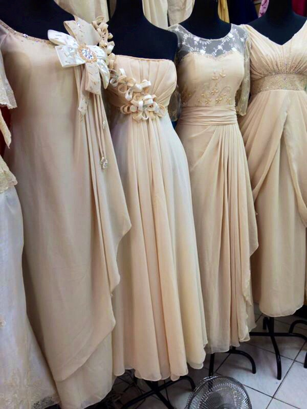 Gowns coats and barongs at divisoria the soapbox for Ready to wear wedding dresses online