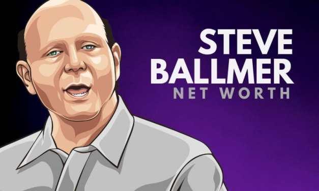Steve Ballmer's Net Worth in 2020