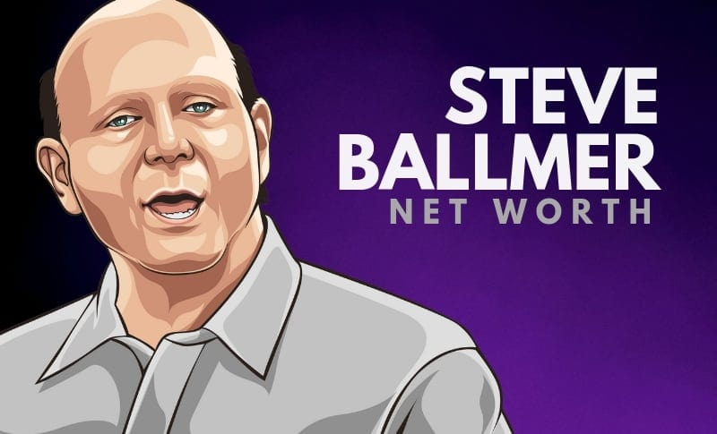 Steve Ballmer's Net Worth in 2020