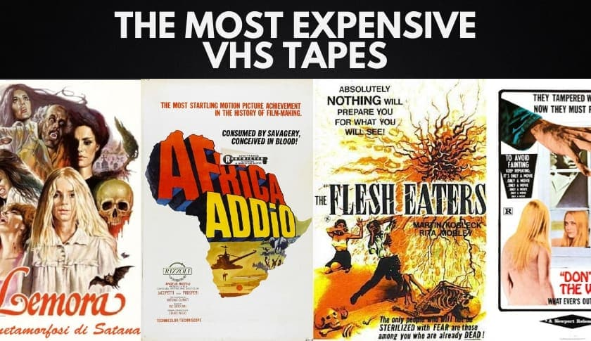 The 10 Most Expensive VHS Tapes (Updated 2020)