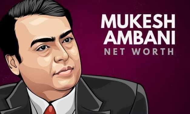 Mukesh Ambani's Net Worth in 2020