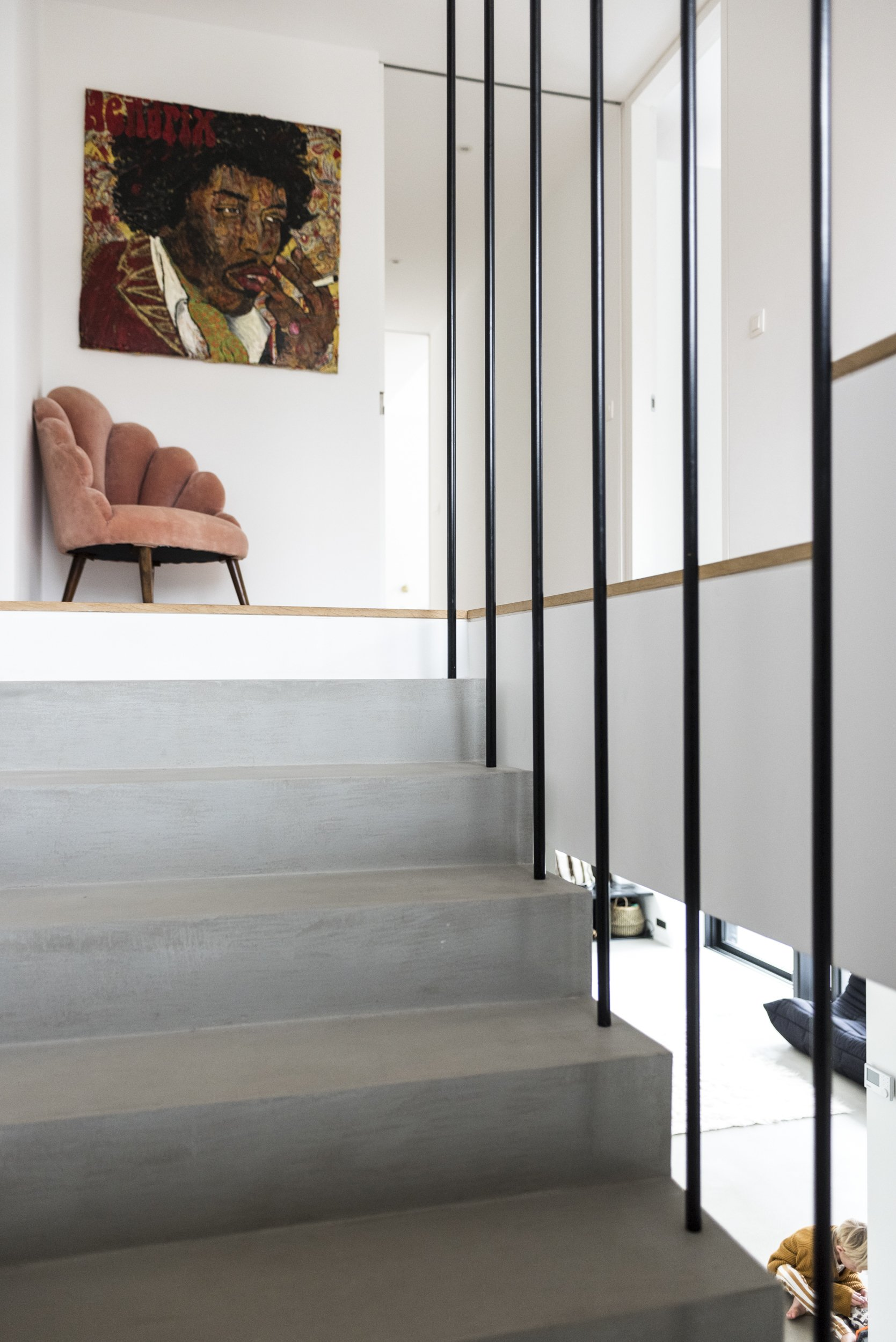 short gym couleur chair ikea green cristina balducci and frederic alexandre 5 louis 4 colette 1 year escaliers maison belgique
