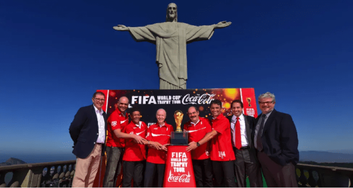 Coca Cola at The World Cup