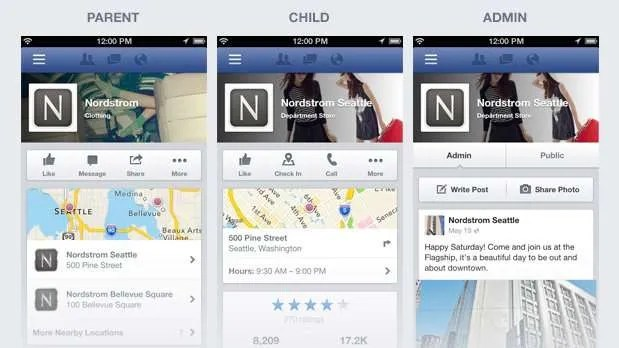 Mobile Business Pages on Facebook get a Facelift