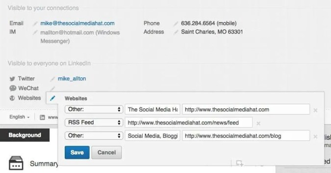 Update & Complete Your LinkedIn Contact Information