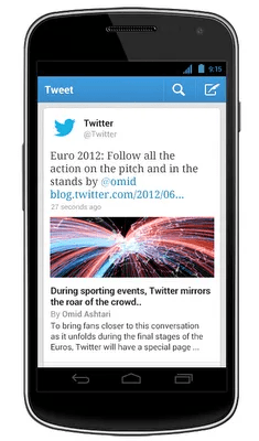 Twitter App Updated, Many Improvements Added