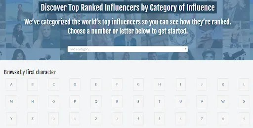 discover the most suitable influencer for your brand