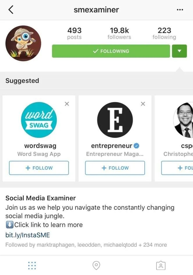 Discover, and be discovered, on Instagram!