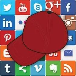 The new logo for The Social Media Hat.