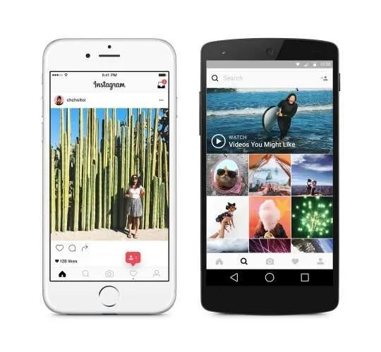 Instagram's New Look & Feel